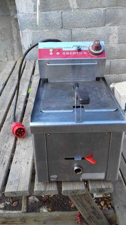 Fritadeira Profissional elétrica de 8 litros Trifásica.