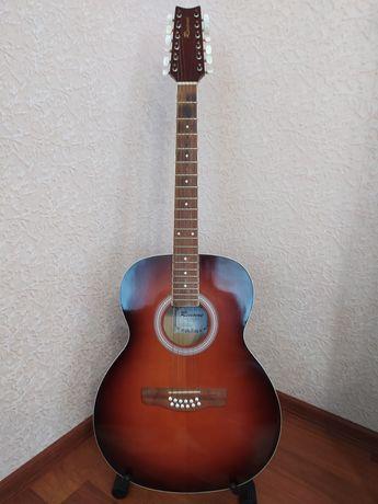 Продається 12 струнна гітара марки Renome