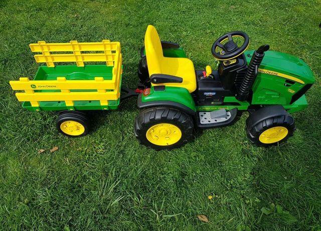 Детский электромобиль трактор peg perego