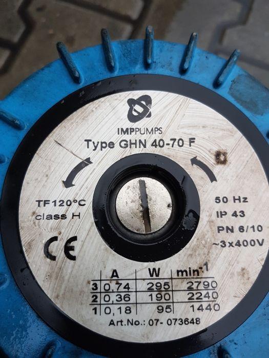 pompa obiegowa FI 40-70 f