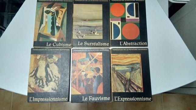 Tendances de la peinture moderne - Coleção completa 6 livros