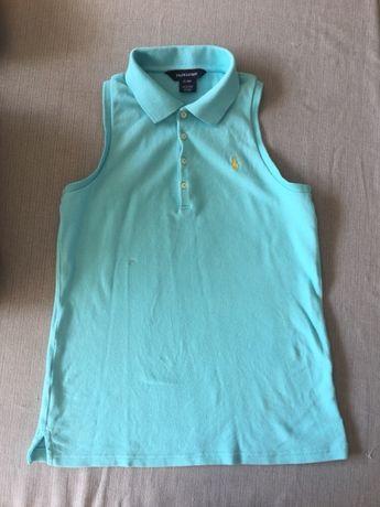 Koszulka polo ralph lauren niebieska młodzieżowa 16 lat
