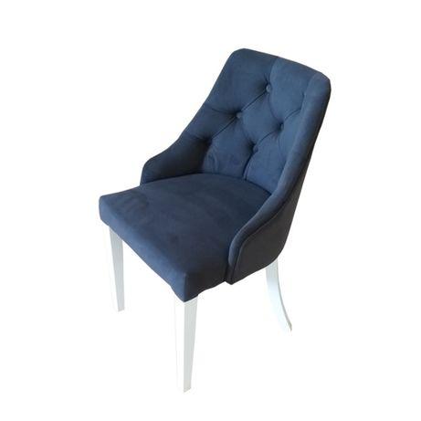 Krzesło CHESTERFIELD , PIKOWANE z kołatką , Glamour