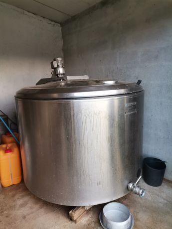 Tanque leite Alfa Laval 1030Lt
