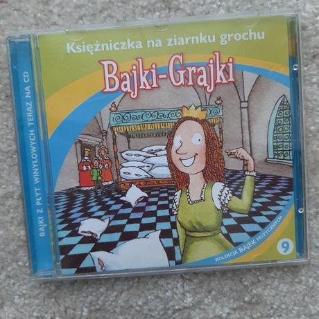 Księżniczka na ziarnku grochu - z serii Bajki Grajki - słuchowisko CD