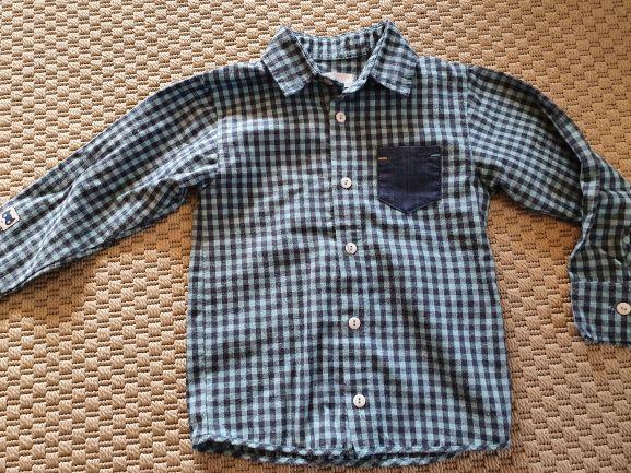 Koszula w kratkę 110cm Pinokio