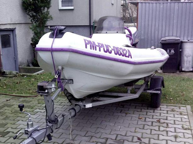łódka, motorówka Rib LOGIC Riot 3,6 z polietylenu - zamiana