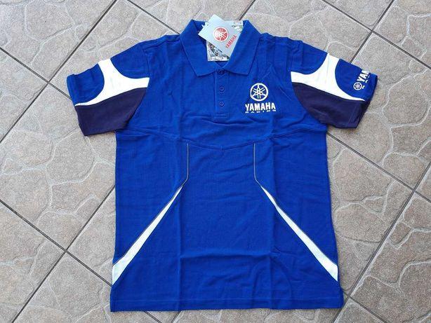 Yamaha Racing Team Blue Koszulka Polo M Oryginalna