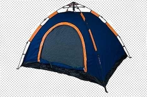Палатка автоматическая лёгкая трёхместная d&t  Best 1