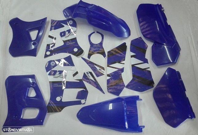 Kit plásticos / autocolantes YAMAHA DTR 125