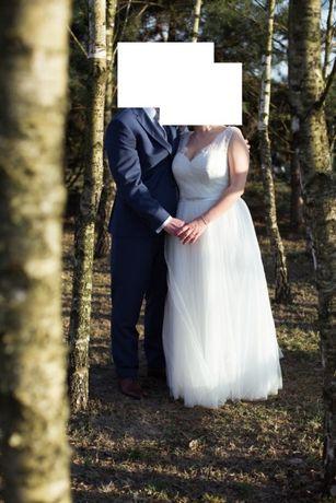 Suknia ślubna 44 46