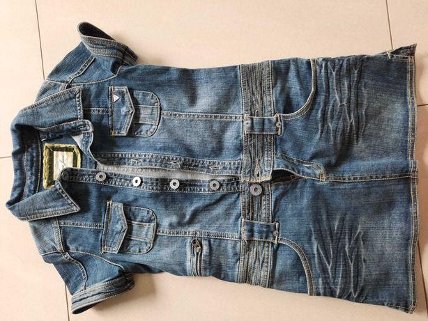 Sukienka Guess jeans dżinsowa 10 lat 140 146 j Mayoral