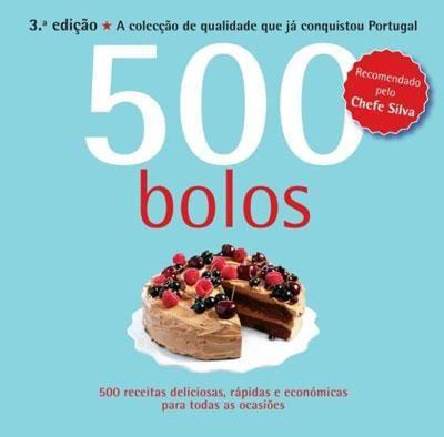 Livro - 500 Bolos 2ª edição de Susannah Blake