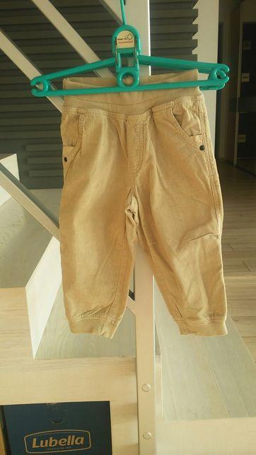 Spodnie roz 86