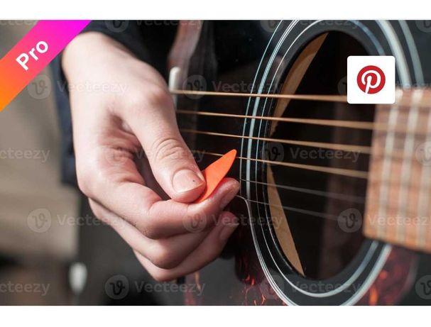 Aulas guitarra acústica.