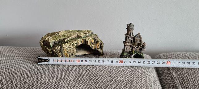 Domek skałka zamek do akwarium