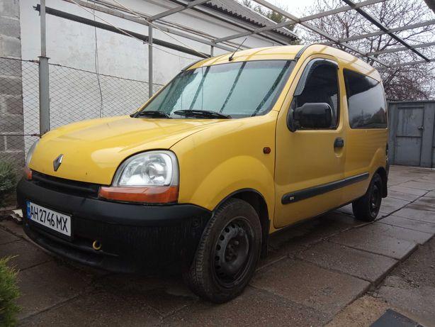 Renault Kangoo 1.9D 2000г. Пассажир