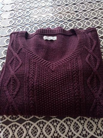 Sweterek HOLLISTER warkocz rozmiar M/L
