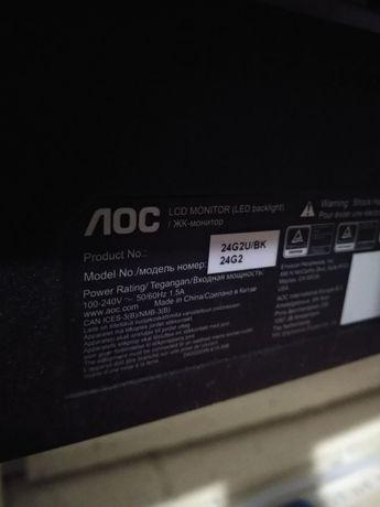 Продам монітор aoc 24 дюйма