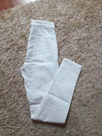 Spodnie sinsay białe