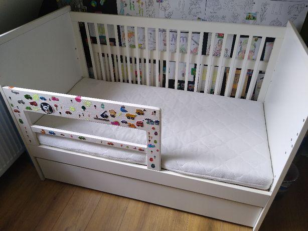 Łóżeczko VOX Young Users 70x140 + szuflada + materac + pościel +