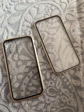 Case 360 iphone 11 złote
