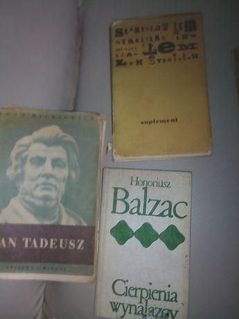 Książki od lat 40 stych około 200 sztuk różne