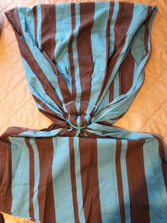 Слинг- шарф с кольцами для малыша