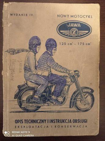 Sprzedam Instrukcje obsługi Jawa 125 175