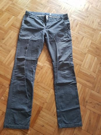 Spodnie materiałowe szare House
