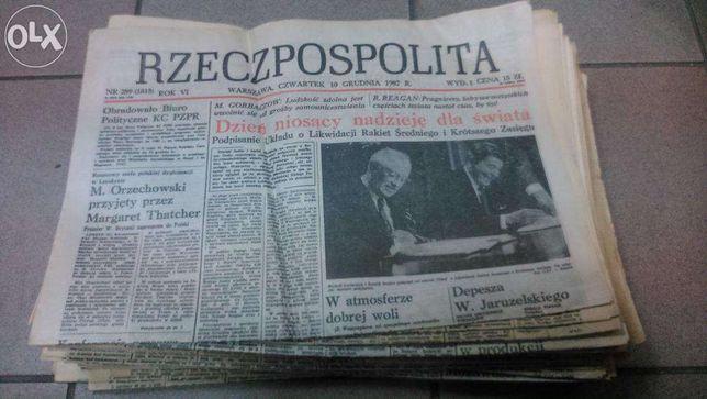Sprzedam Rzeczpospolita 50egz z 1987