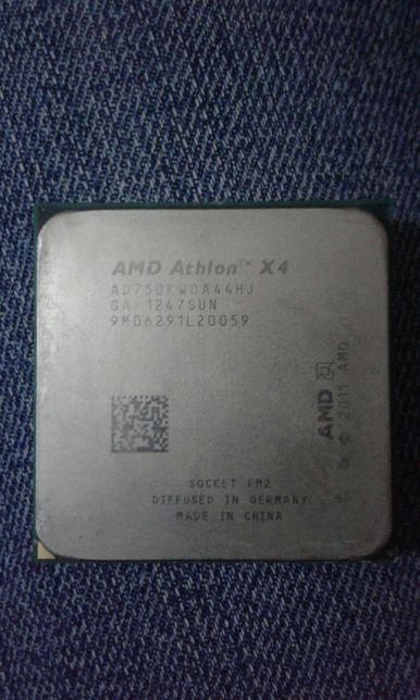 Процессор Amd Athlon x4 750k