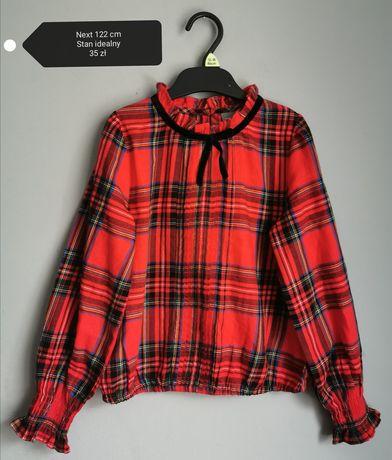 Next_piękna koszula 122 cm Boże Narodzenie cudo blog hit perełka zima