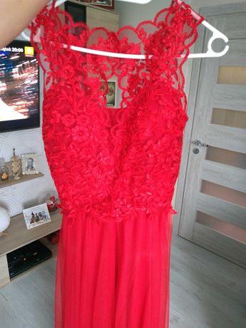 Suknia maxi rozmiar M