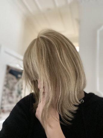 Натуральный парик, волосы