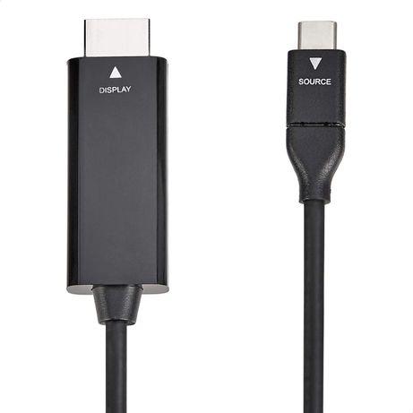 Cabo de video USB C para HDMI - ipad pro, macbook, surface, 4K - NOVO