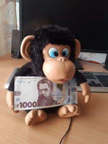 копилка обезьяна
