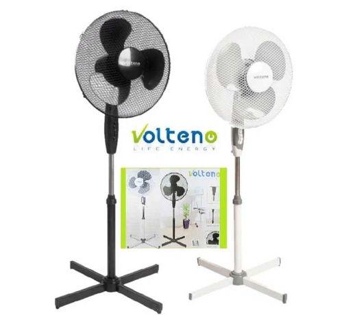 Wentylator, wiatrak Volteno stojący 40W Mocny, białe lub czarne.