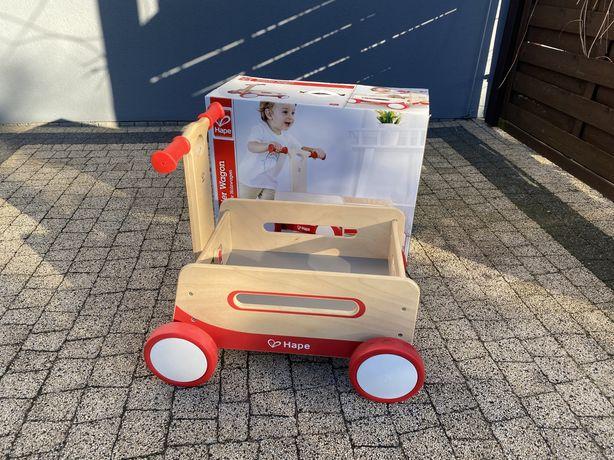 HAPE E0375 Drewniany wagonik wózek wóz drabiniasty
