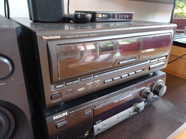 Technics SL-MC310 Zmieniarka płyt CD + Pilot VINTAGE