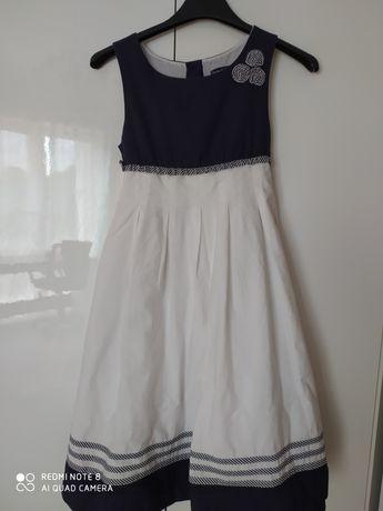 Sukienka wizytowa długa 128