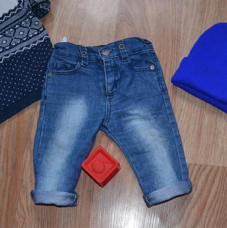 Суперские узкачи джинсы для мальчика