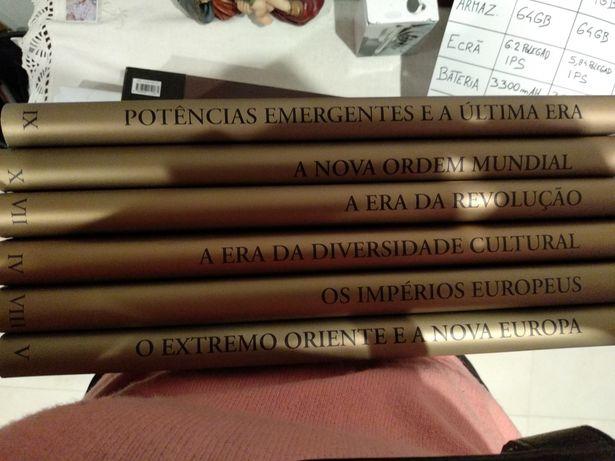 Enciclopédia História ilustrada do mundo. Círculo de leitores.