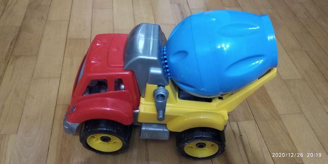 Іграшка, машинка, машина, вантажівка, бетономішалка, самосвал, камаз