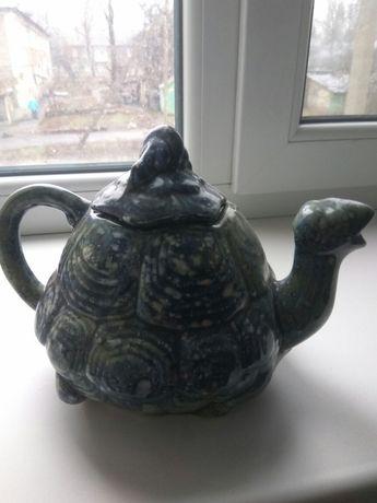 Чайник заварной в виде черепахи