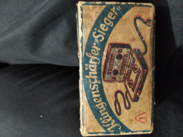 Klingenschärfer Sieger антикварная точилка для лезвий.ГДР в 1950-е