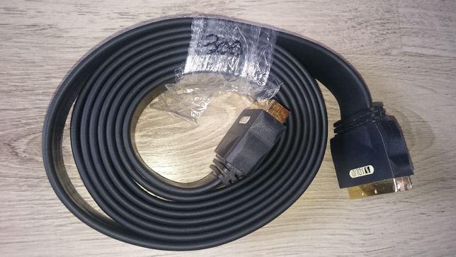 Przewód kabel EURO SCART 3m 21pin DVB-T DVD STB