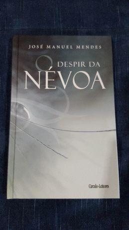 "Livro ""O DESPIR DA NÉVOA"" de José Manuel mendes"