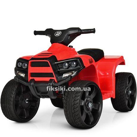 Детский квадроцикл M 3893 EL Электромобиль, EVA колеса, кож. сиденье
