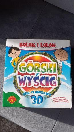 Gra planszowa 3D rodzinna Wyścig Górski Bolek i Lolek